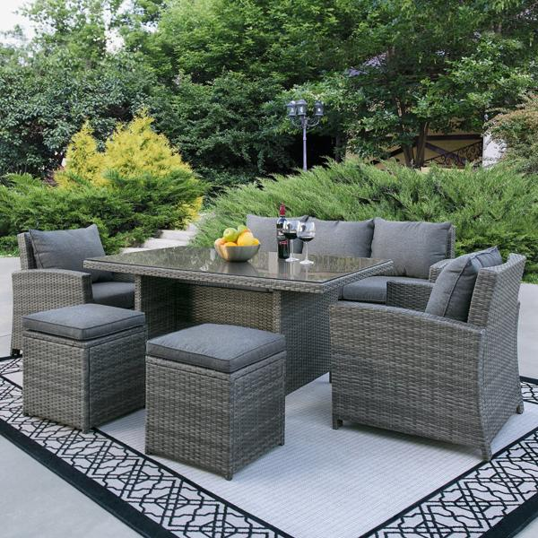 Complete Outdoor Living 6 Piece Patio Furniture Set